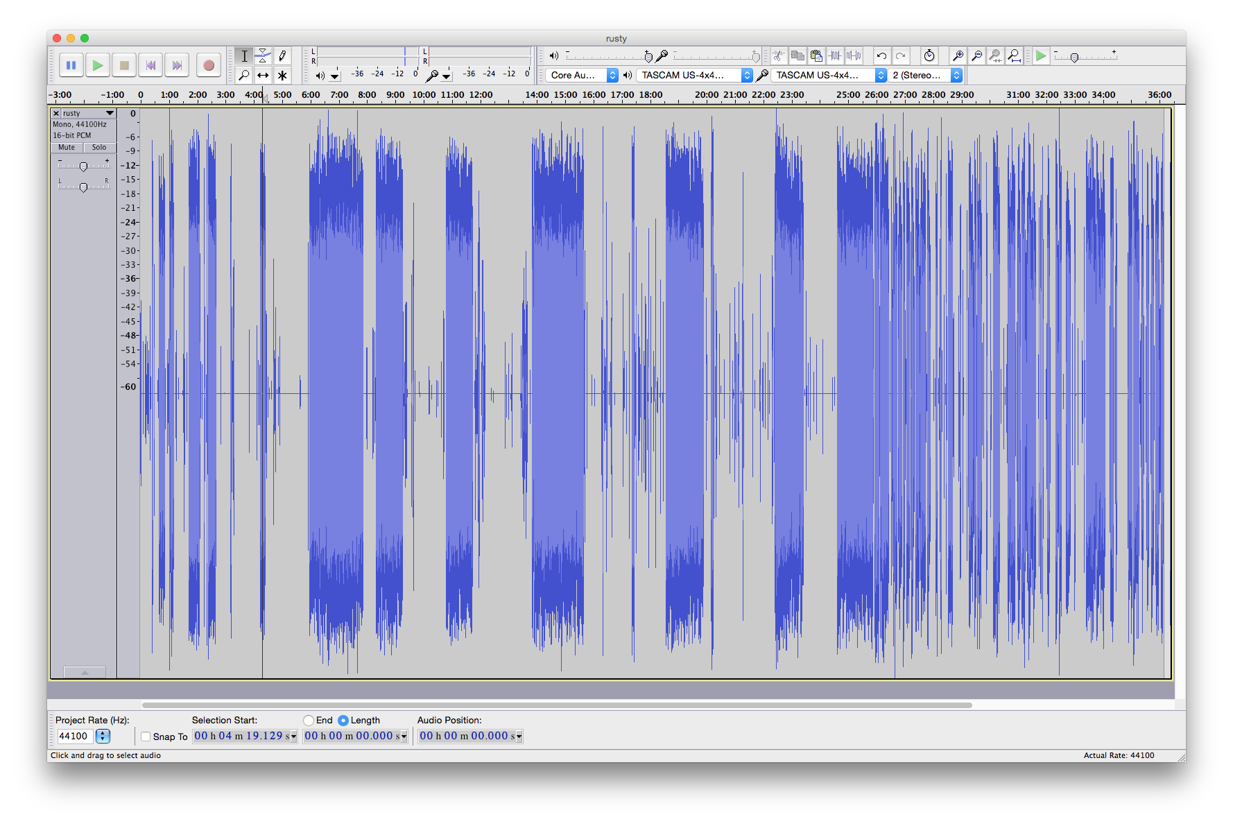 Hot dang, that's some sweet looking audio forms right there.